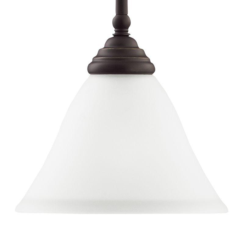 Sea Gull Lighting 61575 Albany 1 Light Mini Pendant Heirloom Bronze