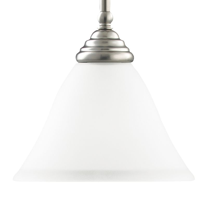 Sea Gull Lighting 61575 Albany 1 Light Mini Pendant Brushed Nickel
