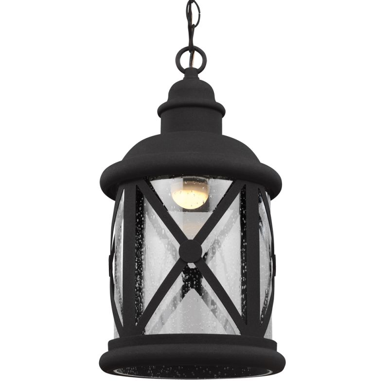 Sea Gull Lighting 6221492S Lakeview LED Outdoor Pendant Black Outdoor Sale $218.00 ITEM: bci2665752 ID#:6221492S-12 UPC: 785652273384 :