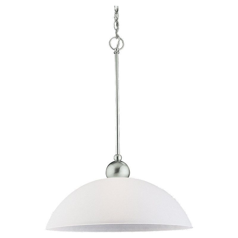 Sea Gull Lighting 65035 Metropolis 1 Light Full Sized Pendant Brushed