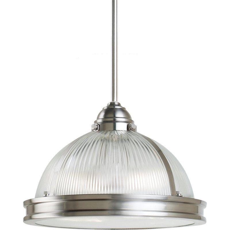 Sea Gull Lighting 65061 Prat Street 2 Light Full Sized Pendant Brushed