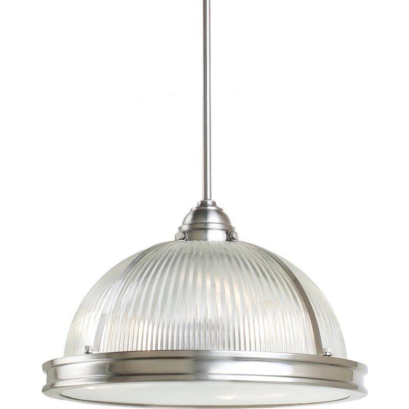 Sea Gull Lighting 65062 Prat Street 3 Light Full Sized Pendant Brushed