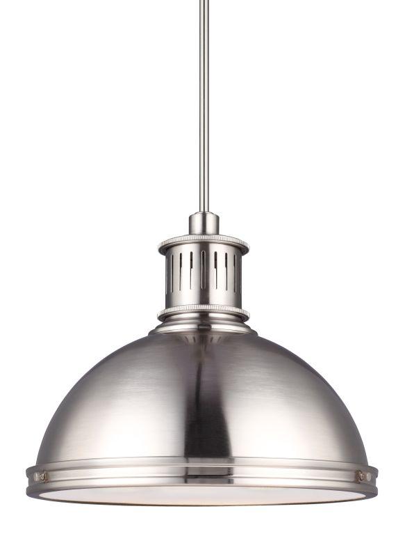Sea Gull Lighting 6508791S Pratt Street LED Title 24 Pendant Brushed