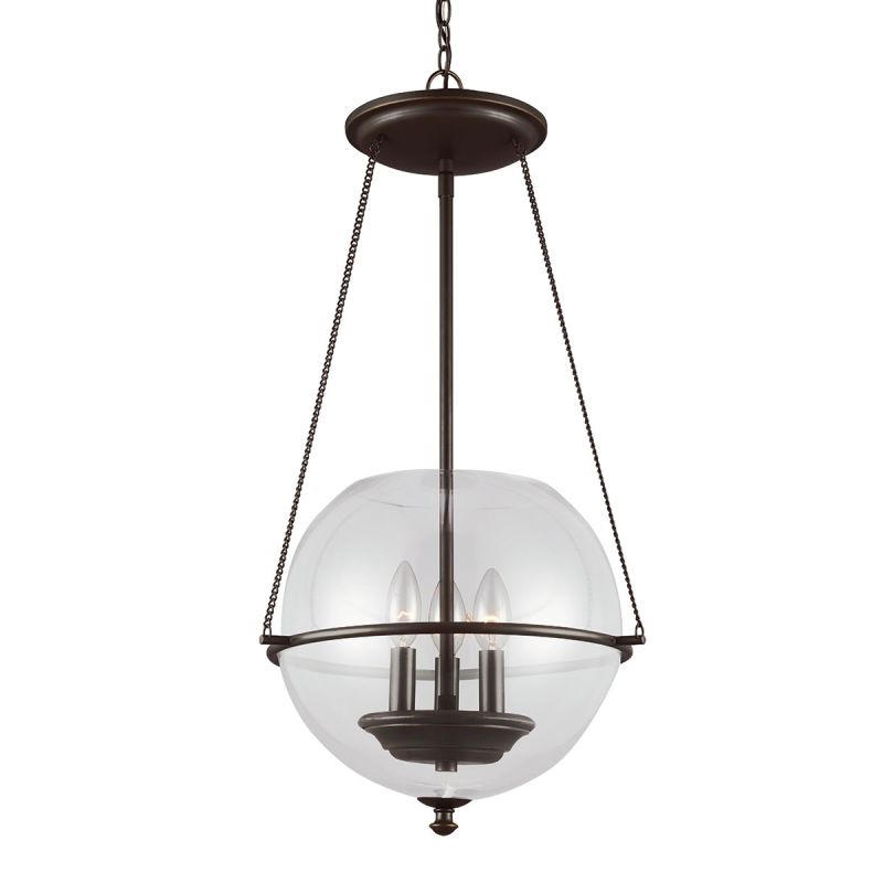 Sea Gull Lighting 6511903 Havenwood 3 Light Full Sized Pendant Autumn