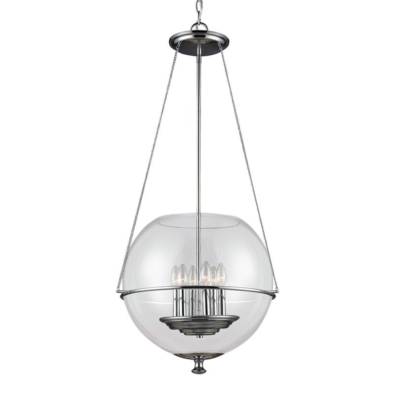 Sea Gull Lighting 6511906 Havenwood 6 Light Full Sized Pendant Chrome