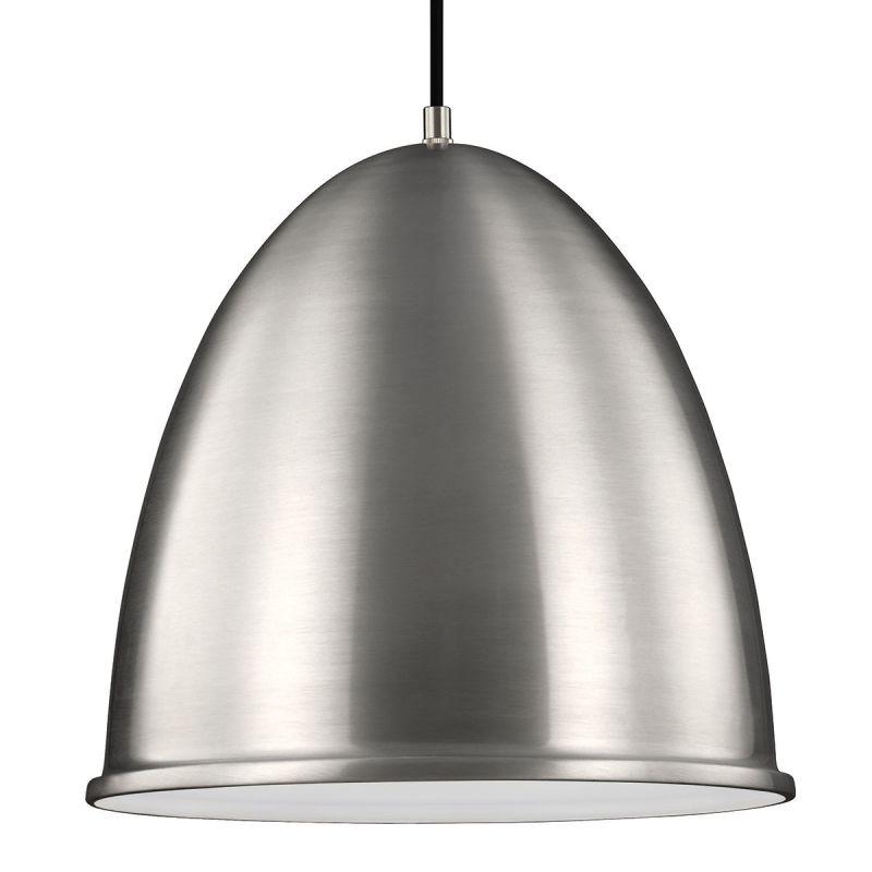Sea Gull Lighting 6525401 Hudson Street 1 Light Full Sized Pendant