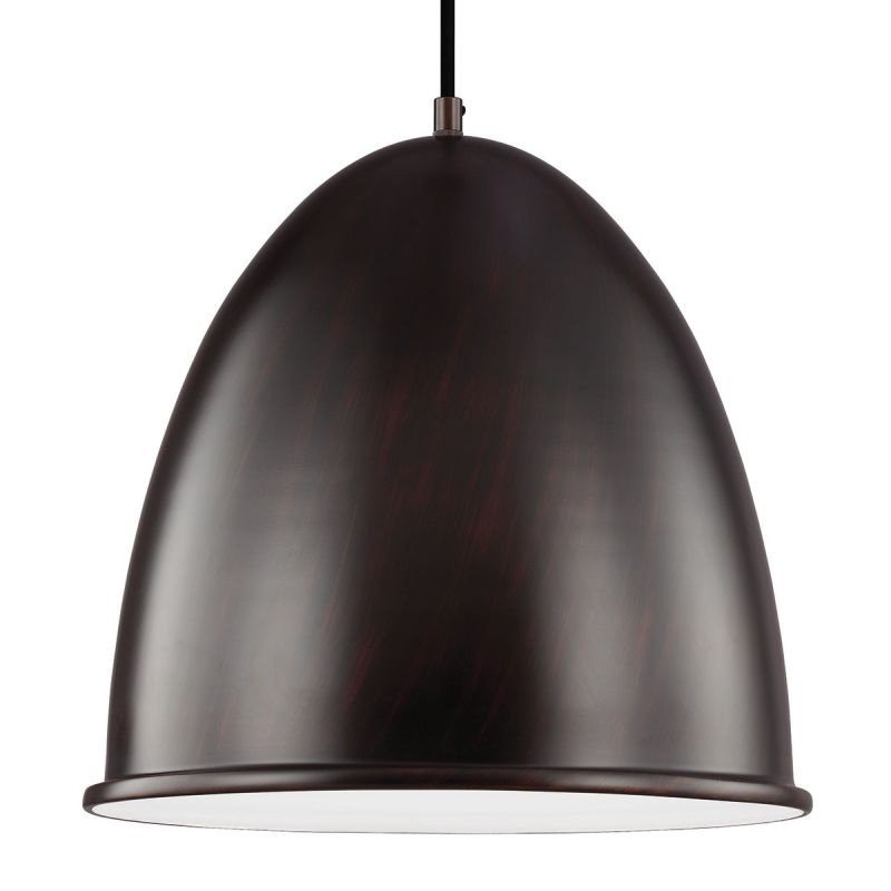 Sea Gull Lighting 6525401 Hudson Street 1 Light Full Sized Pendant Sale $138.00 ITEM: bci2665798 ID#:6525401-710 UPC: 785652275302 :