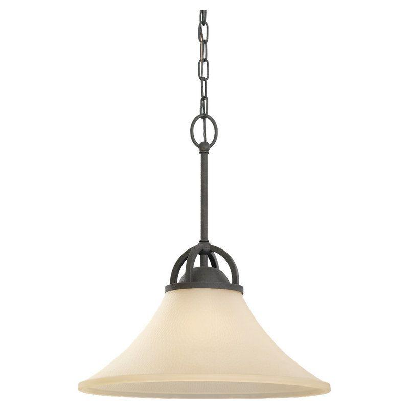 Sea Gull Lighting 65375BLE Somerton 1 Light Energy Star Title 24 Full
