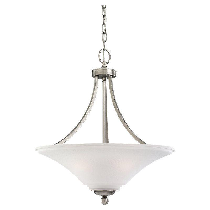 Sea Gull Lighting 65376 Somerton 3 Light Full Sized Pendant Antique
