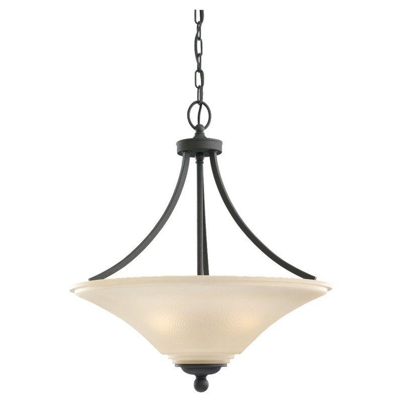 Sea Gull Lighting 65376BLE Somerton 3 Light Energy Star Title 24 Bowl