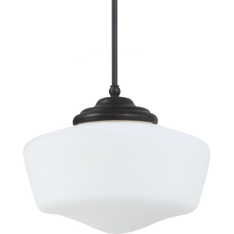 "Sea Gull Lighting 65437BLE Academy 1 Light 11.5"" Diameter Energy Star"