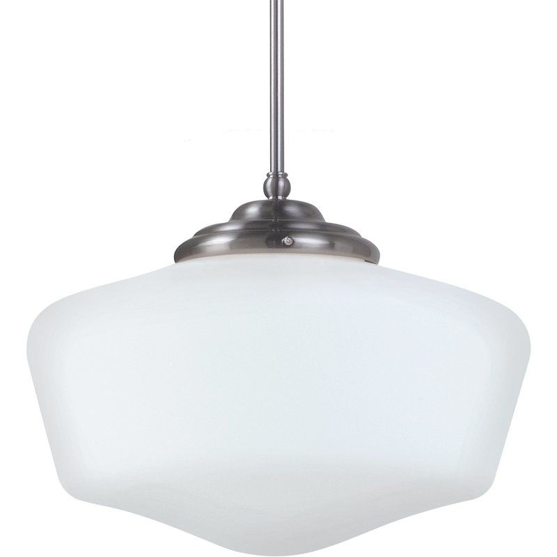 "Sea Gull Lighting 65439BLE Academy 1 Light 17"" Diameter Energy Star"