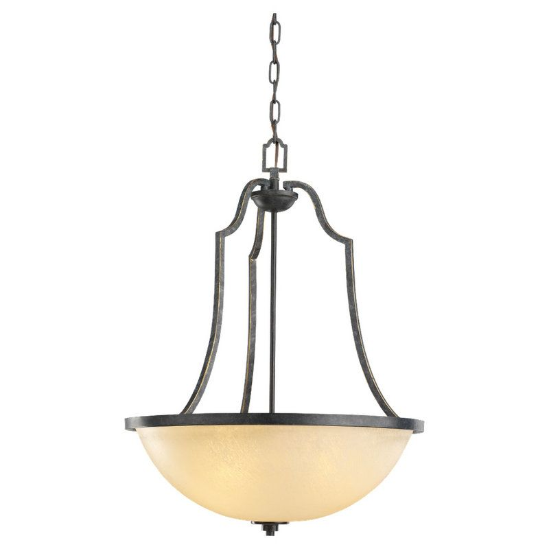 Sea Gull Lighting 65521BLE Roslyn 3 Light Energy Star Title 24 Bowl
