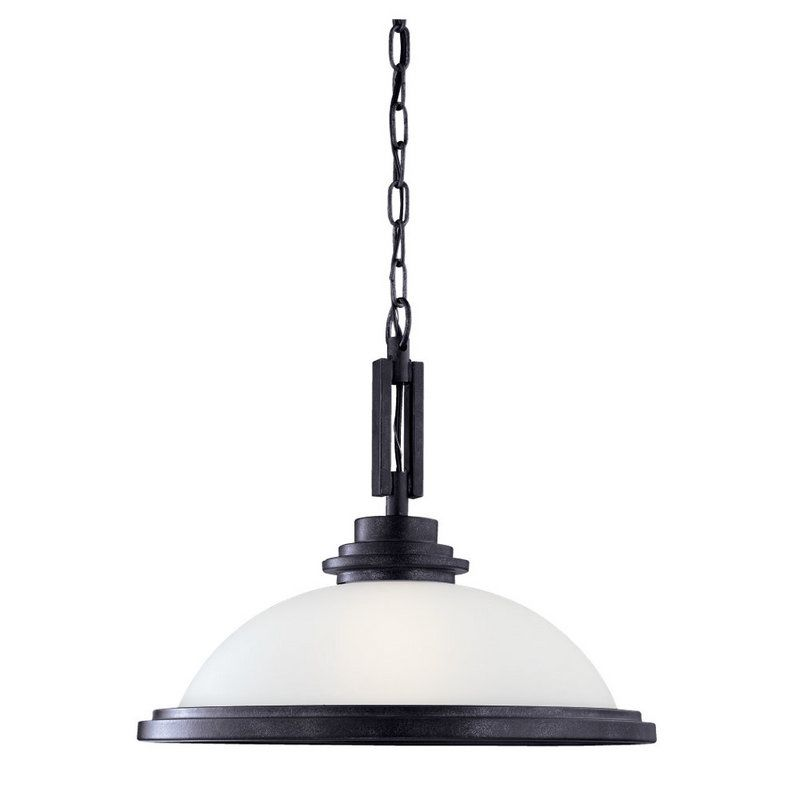 Sea Gull Lighting 65660 Winnetka 1 Light Bowl Shaped Pendant