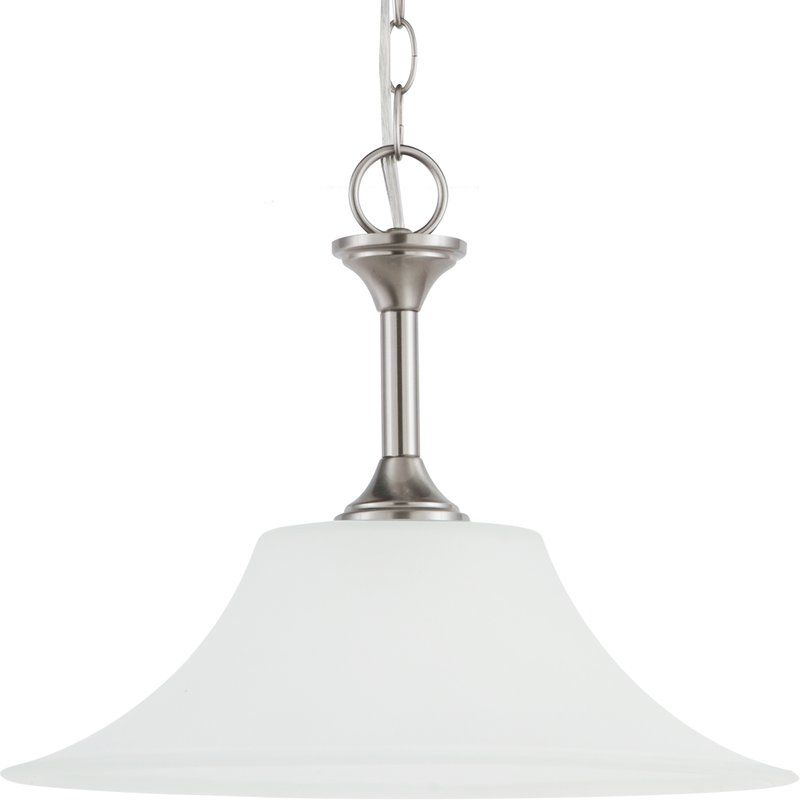 Sea Gull Lighting 65806 Holman 1 Light Full Sized Pendant Brushed