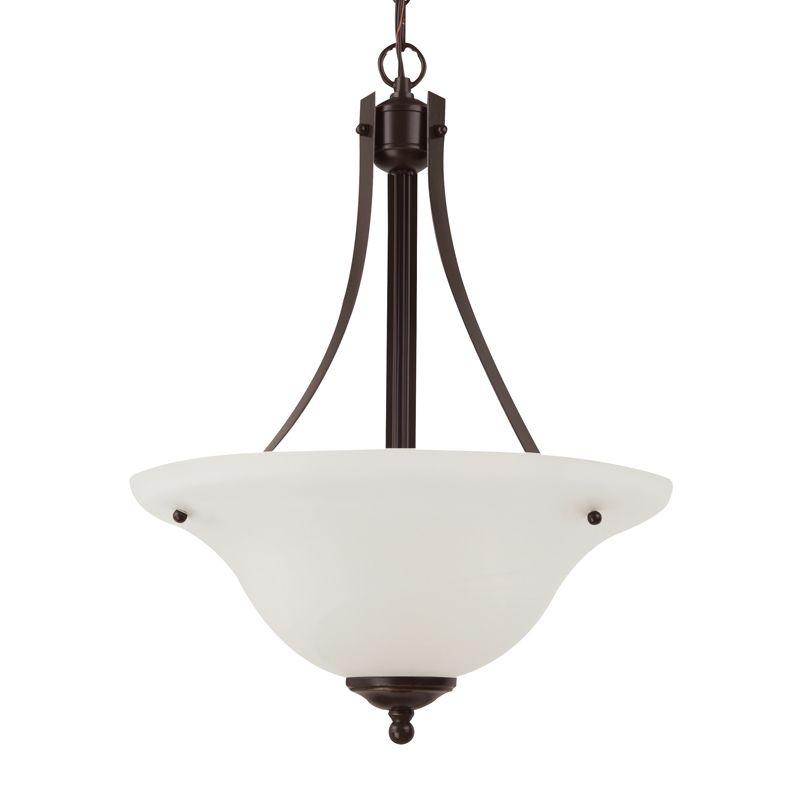 Sea Gull Lighting 65941 Windgate 2 Light Bowl Shaped Pendant Heirloom