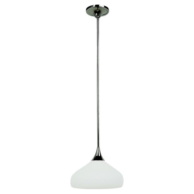 Sea Gull Lighting 65971 Solana 1 Light Full Sized Pendant Polished