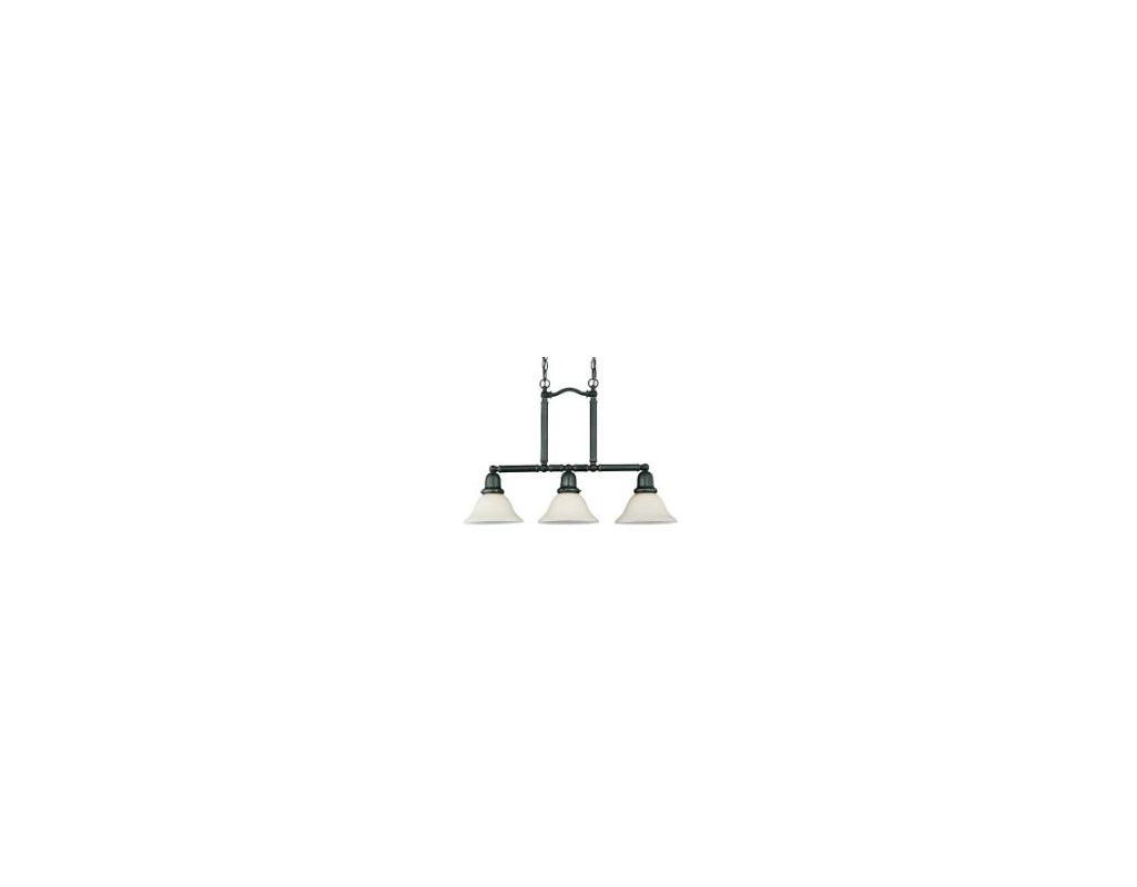 Sea Gull Lighting 66061 Sussex 3 Light Single Tier Linear Chandelier Sale $241.90 ITEM: bci269870 ID#:66061-782 UPC: 785652660672 :