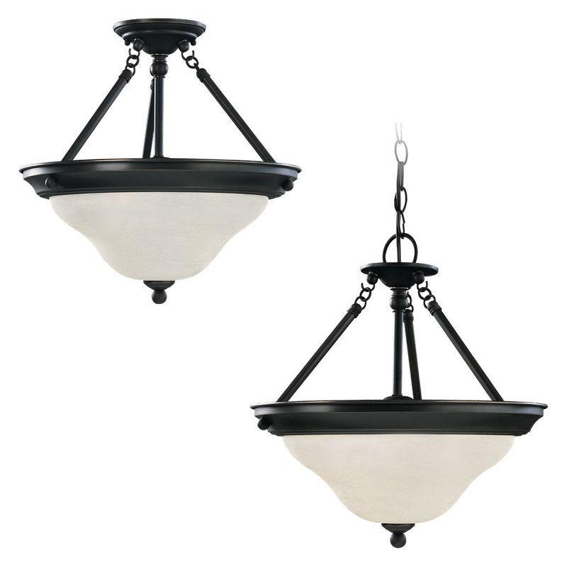 Sea Gull Lighting 66062 Sussex 3 Light Bowl Shaped Pendant Heirloom Sale $202.90 ITEM: bci269873 ID#:66062-782 UPC: 785652660597 :