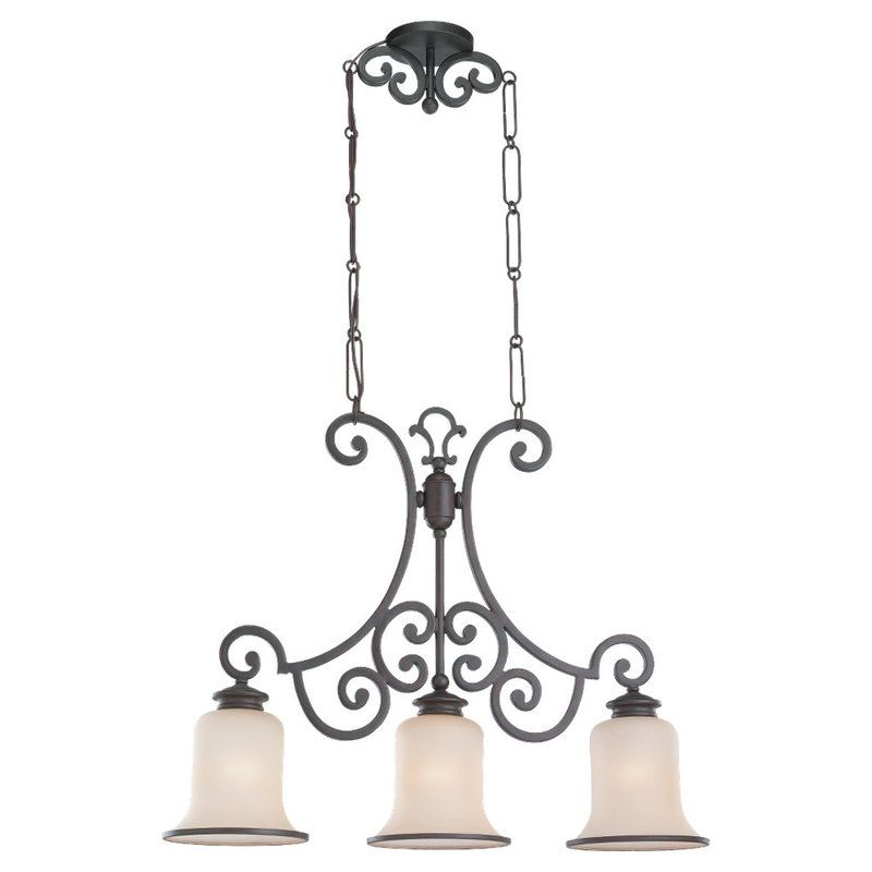 Sea Gull Lighting 66145 Acadia 3 Light Single Tier Linear Chandelier Sale $160.00 ITEM: bci530200 ID#:66145-814 UPC: 785652661488 :