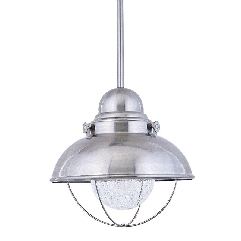 """Sea Gull Lighting 665891S Sebring LED 16.75"""" Diameter Pendant Brushed"""