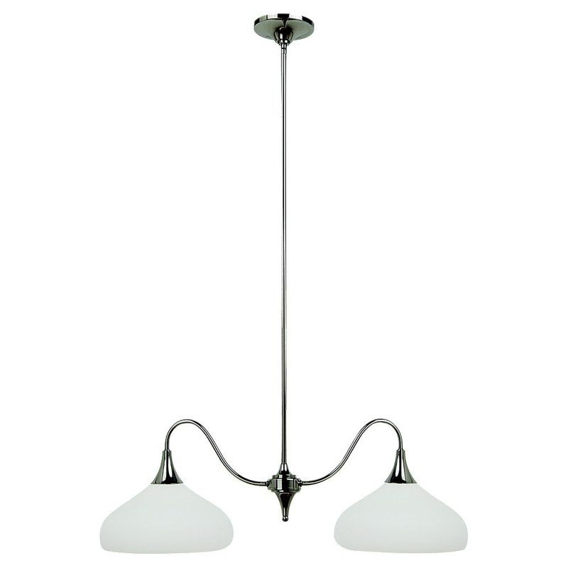 Sea Gull Lighting 66971 Solana 2 Light Single Tier Linear Chandelier