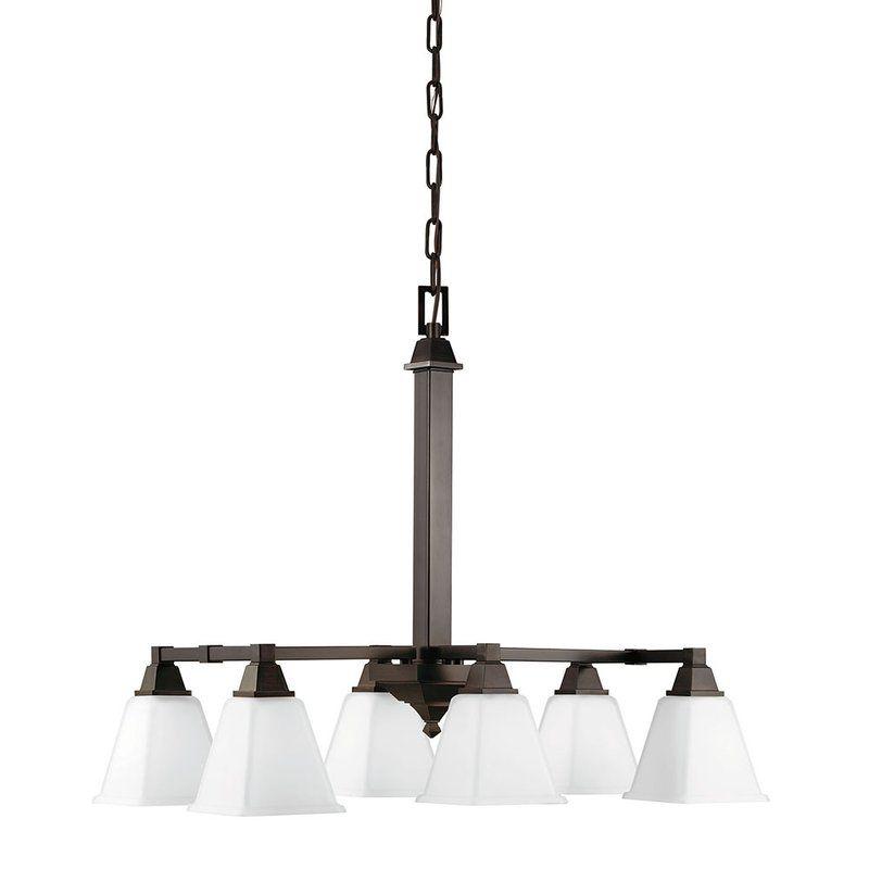 Sea Gull Lighting 6750406 Denhelm 6 Light Single Tier Linear Sale $133.00 ITEM: bci2349844 ID#:6750406-710 UPC: 785652241963 :