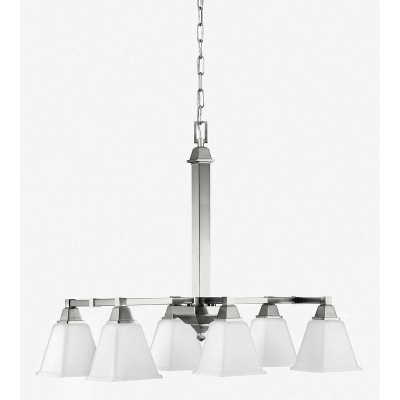 Sea Gull Lighting 6750406 Denhelm 6 Light Single Tier Linear Sale $133.00 ITEM: bci2349845 ID#:6750406-962 UPC: 785652241956 :