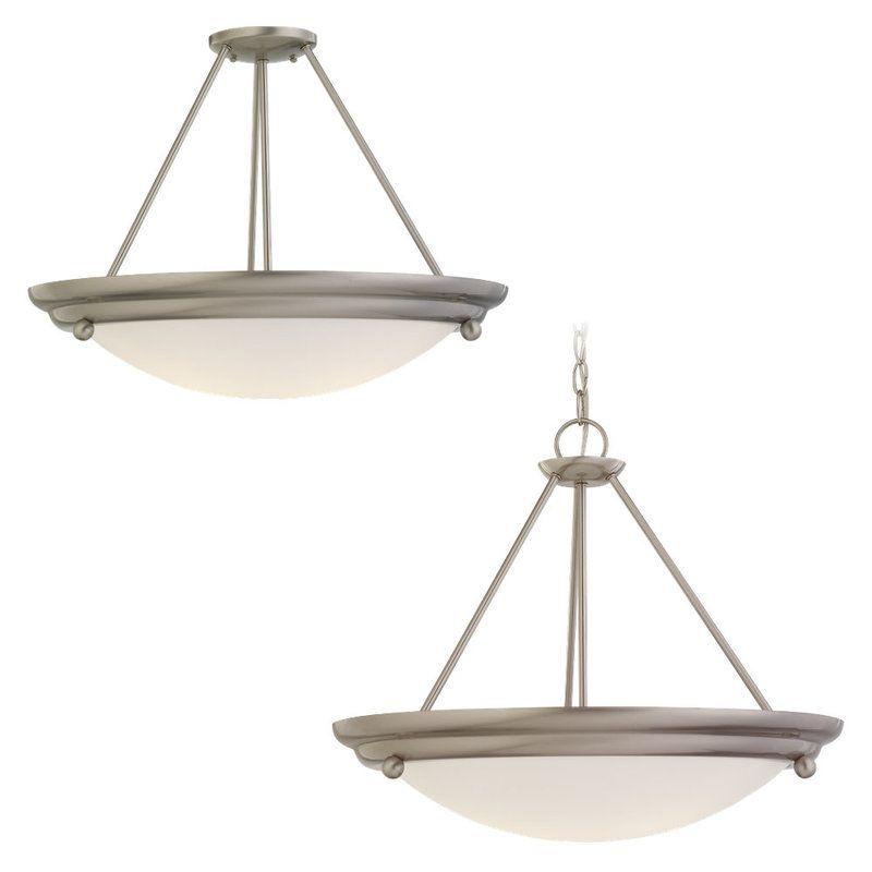 Sea Gull Lighting 69133BLE Centra Convertible 3 Light Energy Star