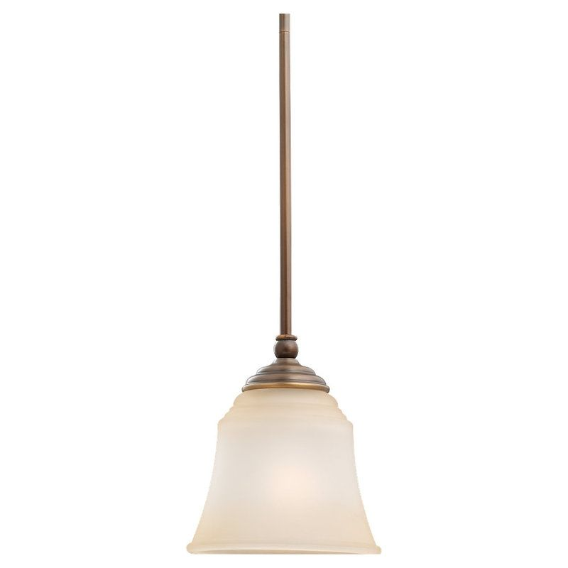 Sea Gull Lighting 69380BLE Parkview 1 Light Energy Star Title 24 Mini