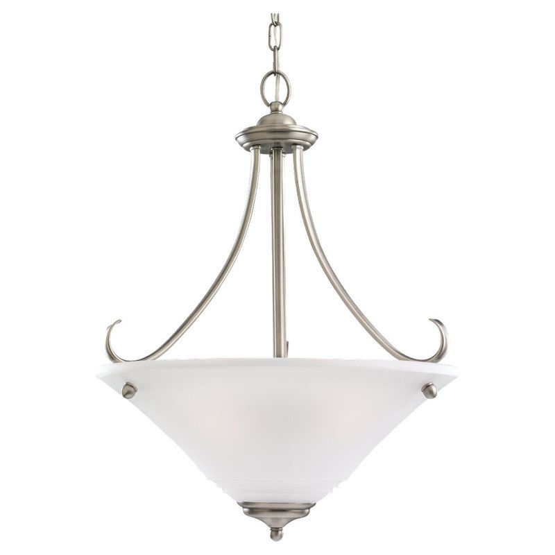 Sea Gull Lighting 69381BLE Parkview 3 Light Energy Star Title 24 Bowl