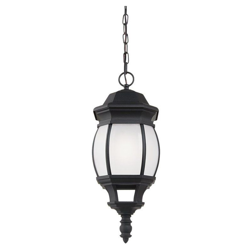 Sea Gull Lighting 69400BLE Wynfield 1 Light Outdoor Small Pendant
