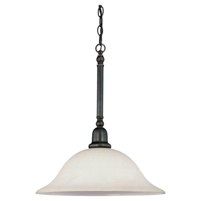Sea Gull Lighting 69561BLE Sussex 3 Light Outdoor Full Sized Pendant