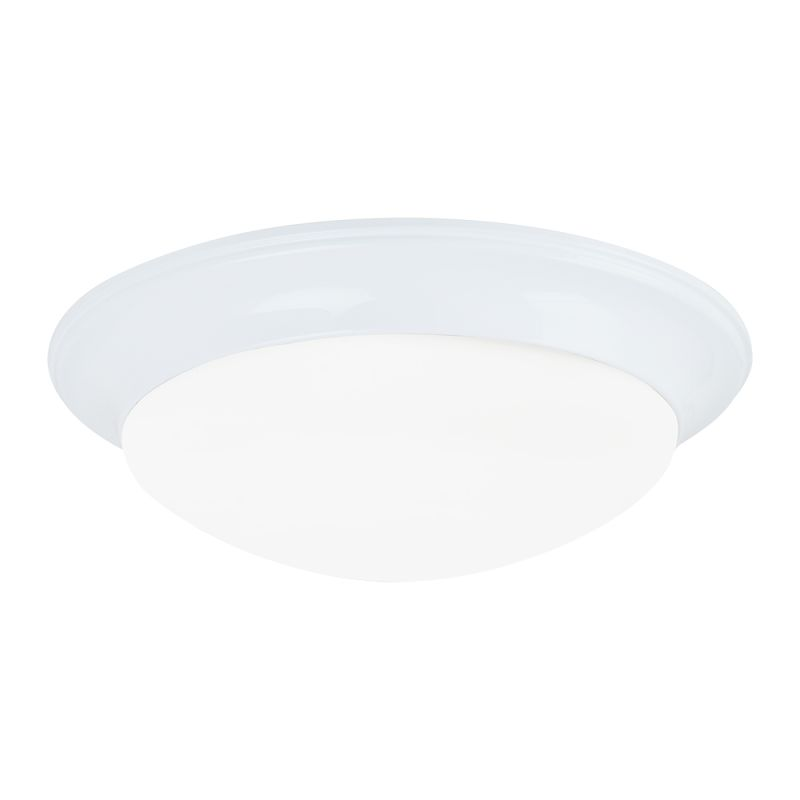 "Sea Gull Lighting 7543591S Nash LED 14"" Diameter Flush Mount Ceiling"