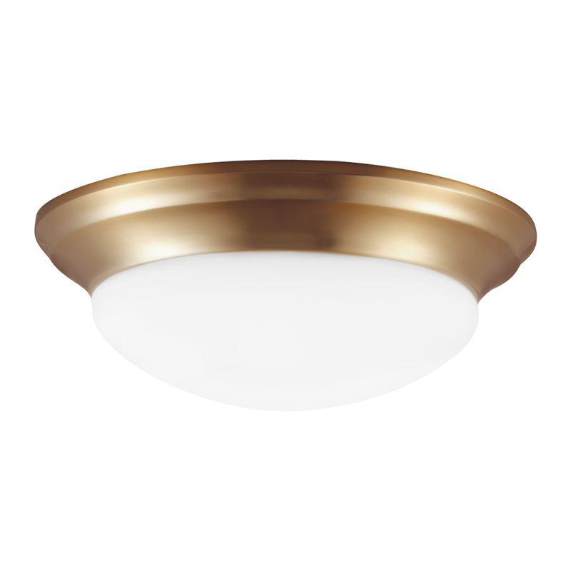 """Sea Gull Lighting 7543691S Nash LED 16.75"""" Diameter Flush Mount"""
