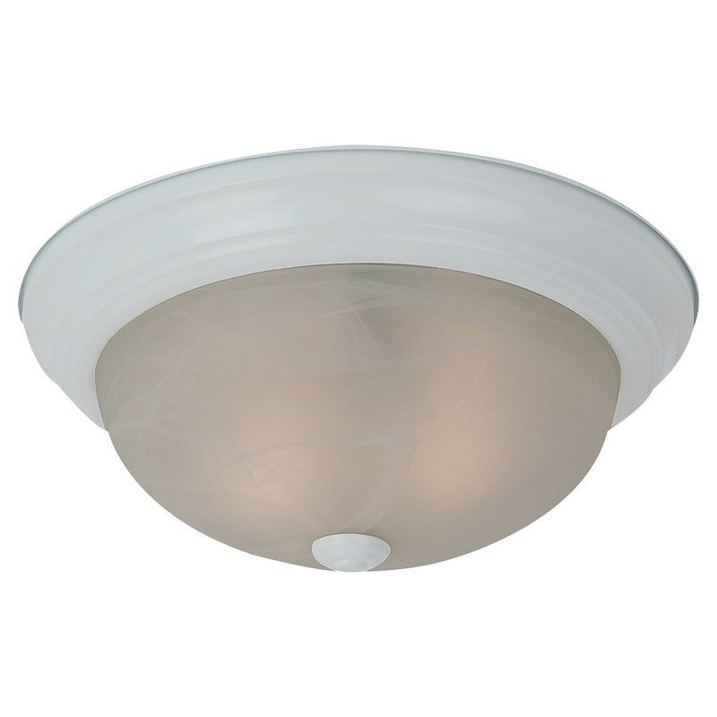 Sea Gull Lighting 75940 Windgate 1 Light Flush Mount Ceiling Fixture
