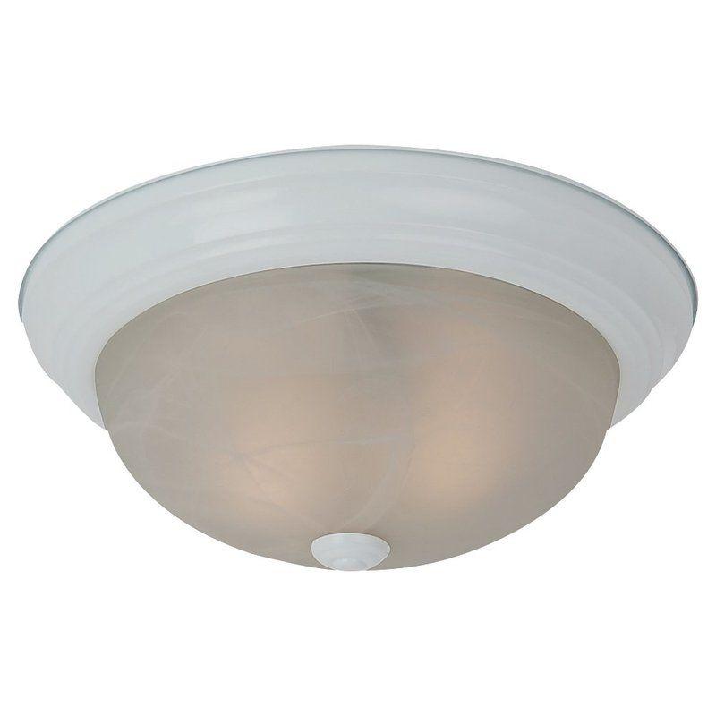 Sea Gull Lighting 75943BLE Windgate 3 Light Energy Star Flush Mount