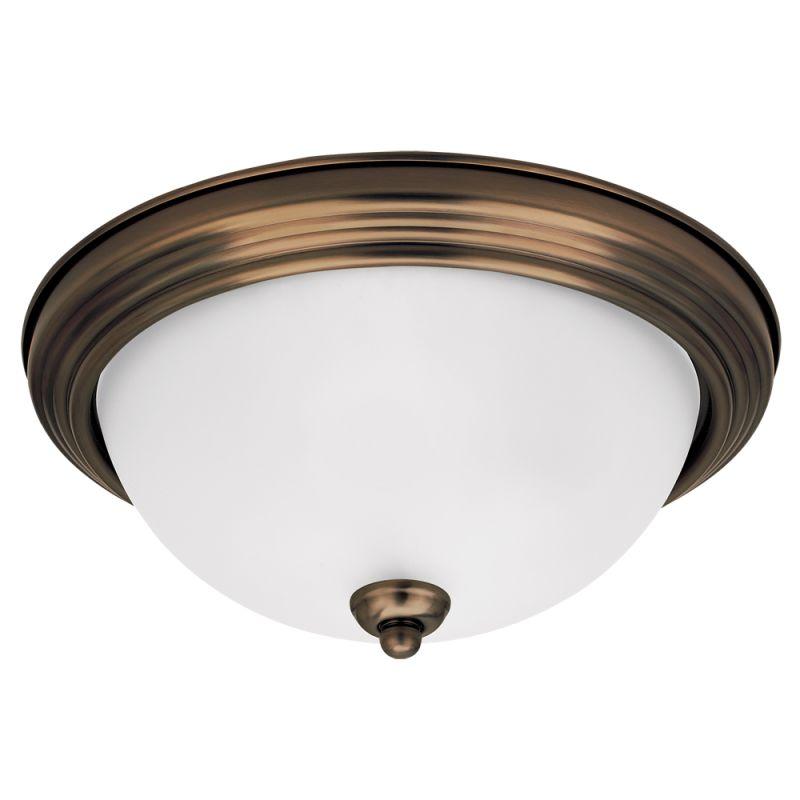 Sea Gull Lighting 77063S Ceiling Flush Mount 1 Light Energy Star Flush Sale $37.00 ITEM: bci2349890 ID#:77063S-829 UPC: 785652249228 :