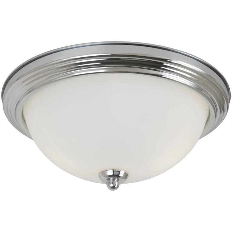 Sea Gull Lighting 77064S Ceiling Flush Mount 1 Light Energy Star Flush