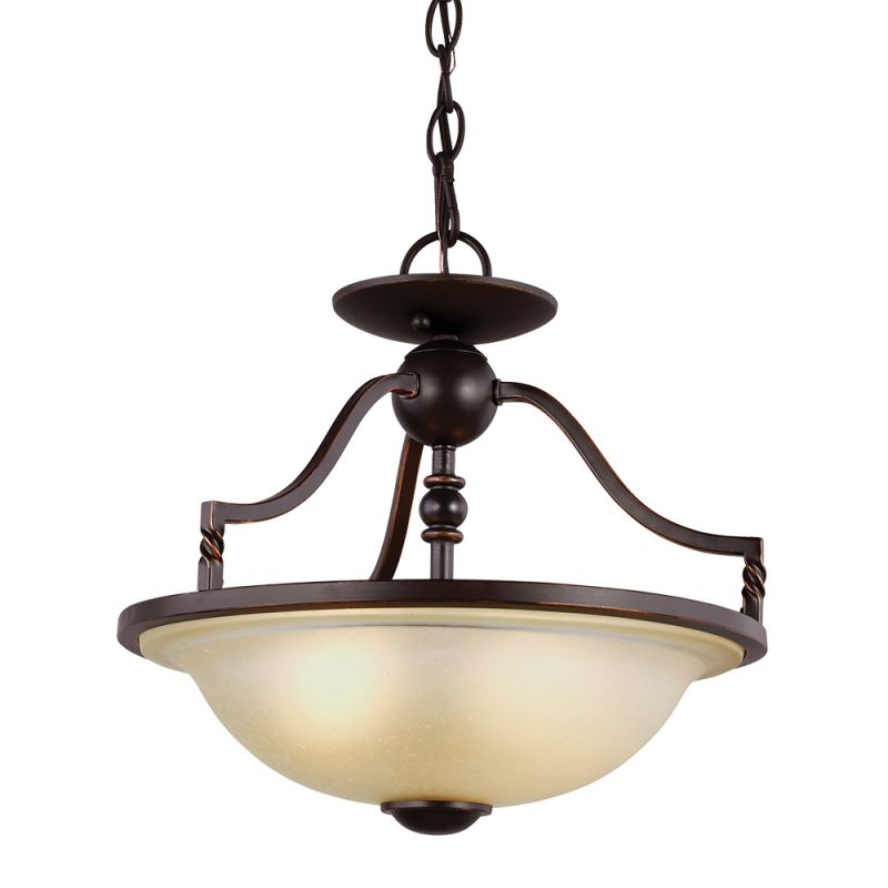 Sea Gull Lighting 7710602 Trempealeau 2 Light Full Sized Pendant Roman