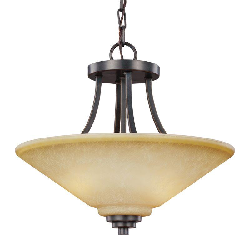 Sea Gull Lighting 7713002 Parkfield 2 Light Full Sized Pendant Flemish Sale $158.00 ITEM: bci2666080 ID#:7713002-845 UPC: 785652274909 :