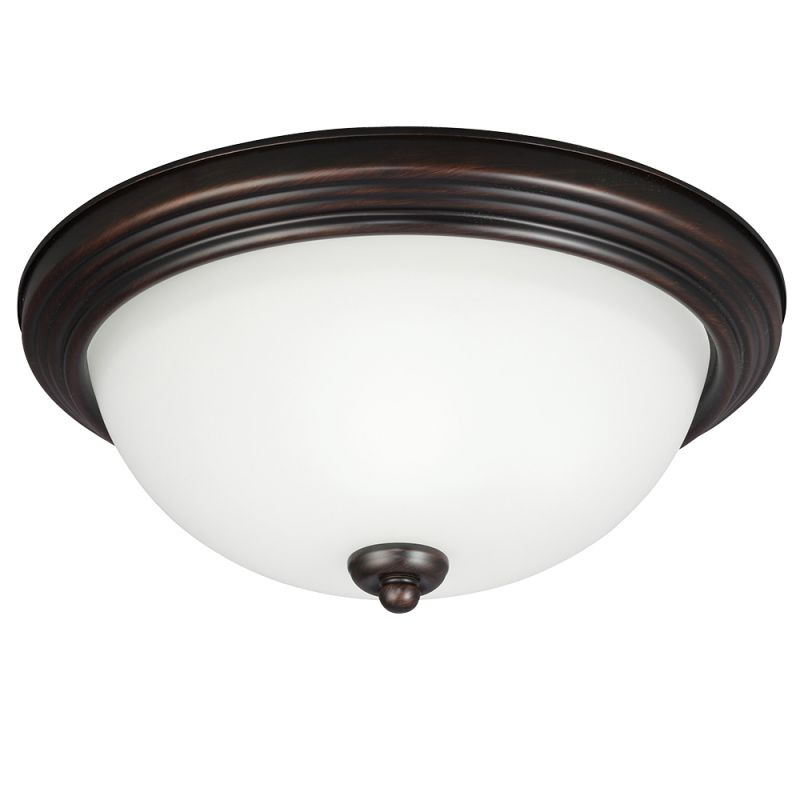 Sea Gull Lighting 77263S Ceiling Flush Mount 1 Light Energy Star Flush