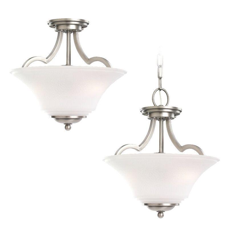 Sea Gull Lighting 77375 Somerton 2 Light Bowl Shaped Pendant Antique Sale $194.70 ITEM: bci530260 ID#:77375-965 UPC: 785652773792 :
