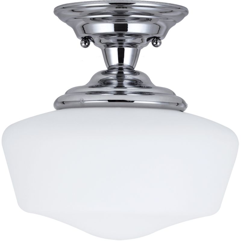 Sea Gull Lighting 77436BLE Academy 1 Light Energy Star Semi-Flush