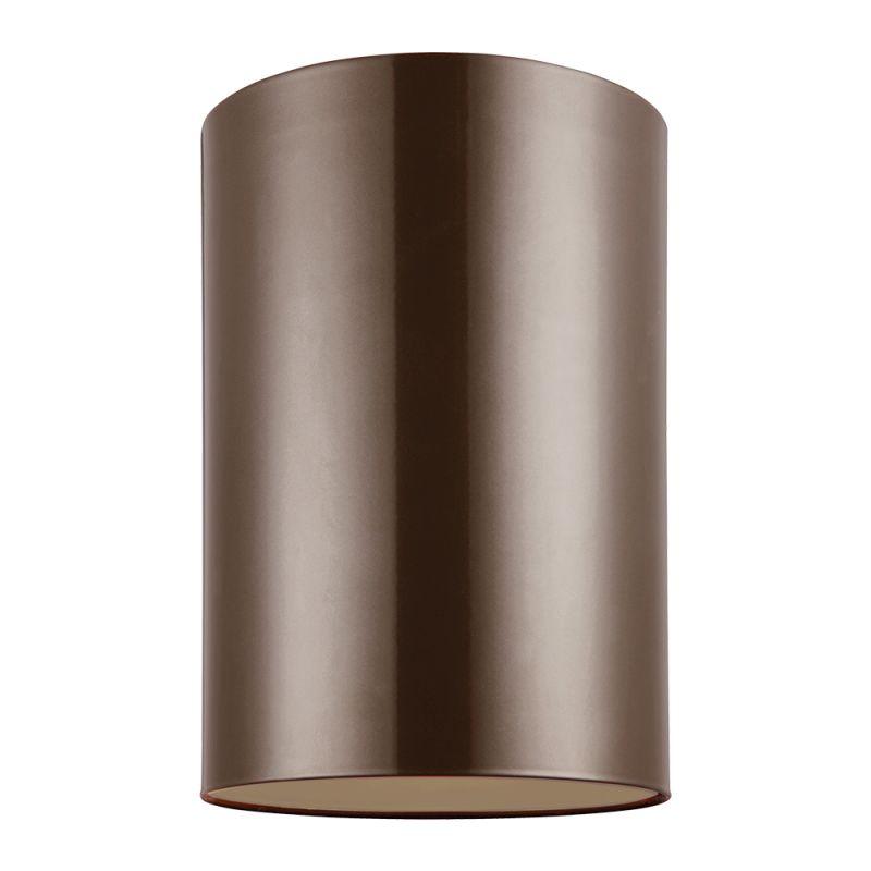 """Sea Gull Lighting 7813991S Outdoor Bullets LED 6"""" Diameter Flush Mount"""