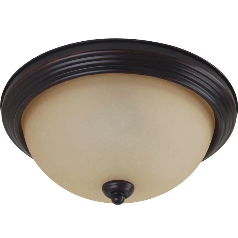 Sea Gull Lighting 79364BLE Ceiling Flush Mount 2 Light Energy Star