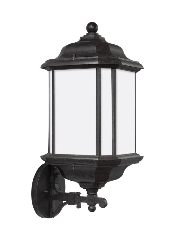 Sea Gull Lighting 84532 Kent Reversible 1 Light Outdoor Wall Sconce
