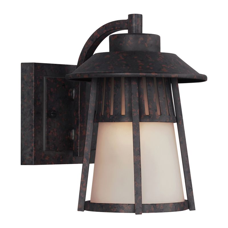 "Sea Gull Lighting 8511701 Hamilton Heights 1 Light 6"" Wide Reversible"