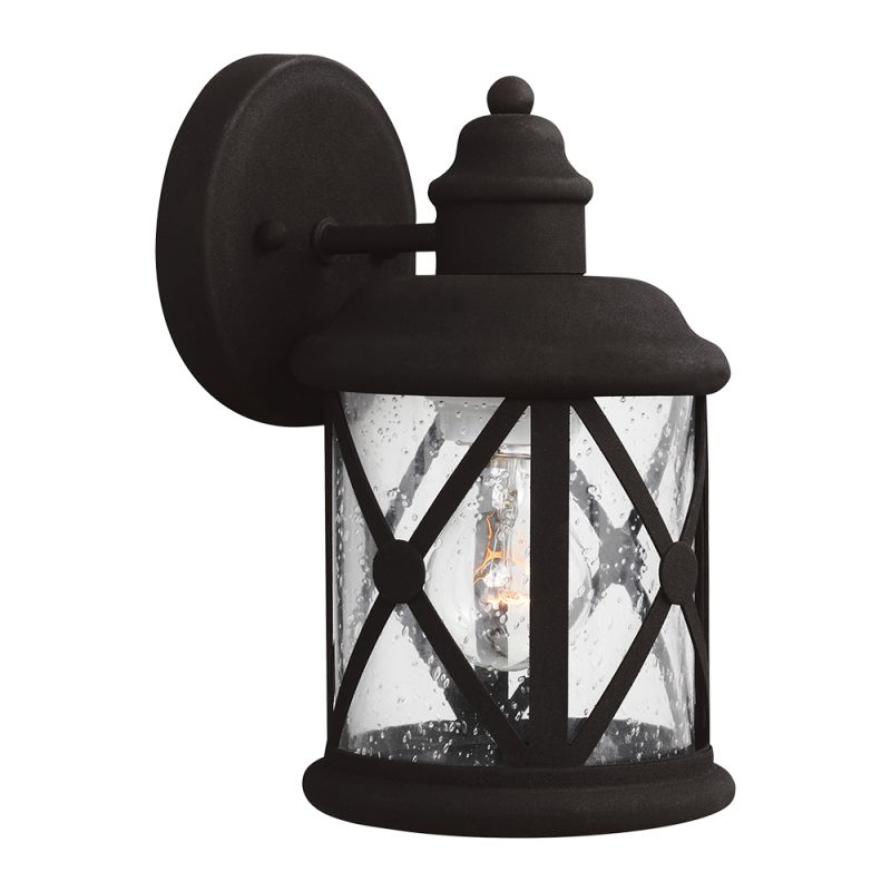 "Sea Gull Lighting 8521401 Lakeview 1 Light 5.5"" Wide Outdoor Lantern"