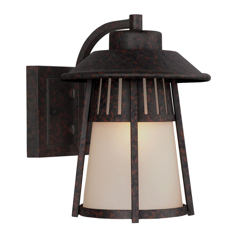 "Sea Gull Lighting 8611701 Hamilton Heights 1 Light 7"" Wide Reversible"
